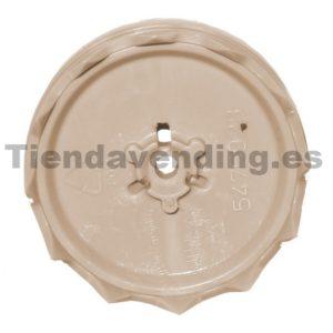 Pistón soporte ducha superior Ø35mm grupo café Lavazza